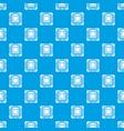 modern microchip pattern seamless blue vector image