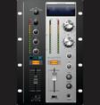 recording studio controls vector image
