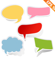 Speech bubbles - - EPS10 vector image