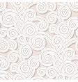 Vintage swirls pattern vector image vector image