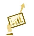 Business plan report vintage vector image