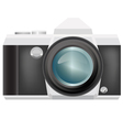 camera isolated vector image vector image