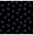 jewels fashion seamless pattern vector image