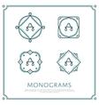 Letter A Monogram