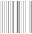 line seamless pattern black lines on white vector image