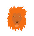muzzle lion vector image vector image