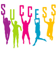 Success representation vector image