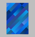 trendy gradient abstract diagonal stripe poster vector image vector image