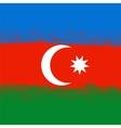 Flag of Azerbaijan vector image