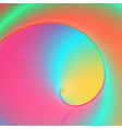 colorful psychedelic background vector image
