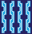 seamless abstract dark blue vertical lines art vector image vector image