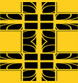 seamless art deco pattern vector image