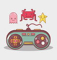 simulator videogame electronic game recreation vector image vector image