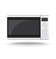 3D Realistic microwave oven vector image