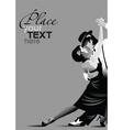 ballroom dancing poster vector image