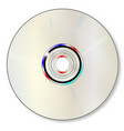 blank dvd vector image