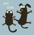catdog vector image vector image