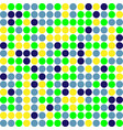 circle multiple colors pattern background vector image vector image