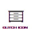 furniture icon flat vector image vector image