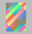 geometrical gradient trendy modern stripe page vector image vector image