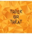 Halloween Background Trick or treat vector image vector image