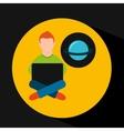 Online training education-student astronomy
