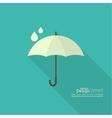 Umbrella sign icon vector image vector image