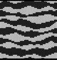 zebra texture fur imitation seamless decorative vector image