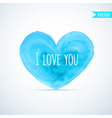 Watercolor heart for homosexual couples Valentines vector image