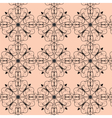 Abstract classic ornament pattern vector image vector image