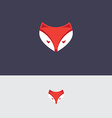 Fox icon template vector image vector image