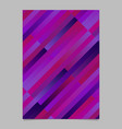 modern trendy gradient stripe template - abstract vector image vector image