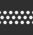 white and black hexagon ceramic tiles