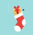 winter vibe concept christmas and new year poster vector image vector image
