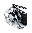Cinema Concept Realistic vector image