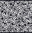day dead holiday skulls pattern vector image vector image