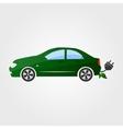 Eco car Eco auto vector image