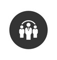 group icon in modern style for web site and vector image vector image