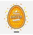 Happy Easter Background Easter egg Easter poster vector image vector image