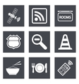 Icons for Web Design set 26 vector image