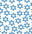 Seamless pattern of the Star of David Simfol vector image vector image