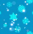 Snowflake Pattern Snowflake texture Christmas and vector image vector image