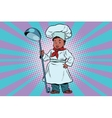 The little boy cook vector image vector image