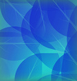 Background of blue autumn vector image
