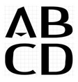 alphabet development abcd