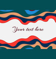 background with effect cut paper vector image