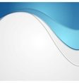 Corporate background with waves vector image vector image