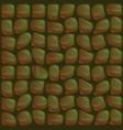 Crocodile skin seamless texture vector image