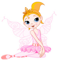 Fairy ballerina vector | Price: 3 Credits (USD $3)