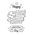 happy independence day card collection vector image vector image